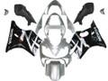 Fairings Honda CBR 600 F4i Silver & Black F4i Racing (2001-2003)