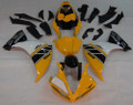 Fairings Yamaha YZF-R1 Yellow Black Motul R1 Racing (2009-2012)