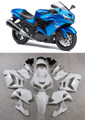 Fairings Plastics Kawasaki ZX14R Ninja Blue Racing (2012-2015)