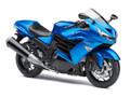 Fairings Plastics Kawasaki ZX14R Ninja Blue Racing (2012-2015)