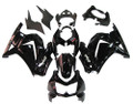Fairings Kawasaki ZX250R EX250 Black Ninja ZX250 Racing (2008-2012)
