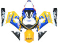 Fairings Suzuki GSXR 600 Blue & Yellow Corona GSXR Racing  (2001-2003)