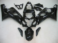 Fairings Suzuki GSXR 600 750 All Black GSXR Racing  (2004-2005)