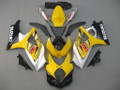 Fairings Suzuki GSXR 1000 Yellow & Silver GSXR Racing  (2007-2008)