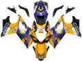 Fairings Suzuki GSXR 1000 Yellow Blue Alstare Corona  Racing  (2007-2008)