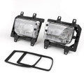 Clear Fog Lights Plastic Lens Kit BMW E30 3-Series Sedan (85-93)