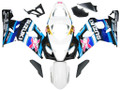 Fairings Suzuki GSXR 600 750 White Blue Brux GSXR Racing  (2004-2005)