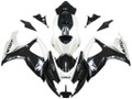 Fairings Suzuki GSXR 600 750 Black & White GSXR Racing  (2006-2007)
