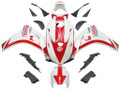 Fairings Honda CBR 1000 RR White & Red Pramac Racing (2008-2011)