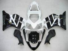 Fairings Honda CBR600 F4i Black & White F4i Racing (2001-2003)