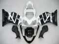 Fairings Honda CBR600 F4i Black & White F4i Racing (2001-2003)