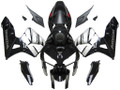 Fairings Honda CBR 600 RR Black & Silver CBR Honda Racing (2005-2006)