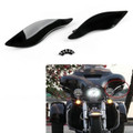 Adjustable Air Deflectors Bat Wing Side Wind For Harley Street Electra Glide (2014-15-16-17-2018)