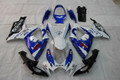Fairings Suzuki GSXR 600 750 White Blue Corona Racing  (2006-2007)