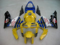 Fairings Honda CBR 600 RR Yellow No.46 Azzurro Racing (2005-2006)