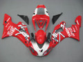 Fairings Yamaha YZF-R1 Red White Virgin  R1 Racing (1998-1999)