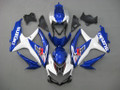 Fairings Suzuki GSXR 600 750 White & Blue GSXR Racing  (2008-2009-2010)
