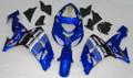 Fairings Kawasaki ZX 10R Blue Black No.56 Nakano Racing (2006-2007)