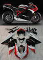 Fairings Ducati 1098 1198 848 Red Black 1198 Racing (2007-2011)