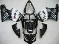 Fairings Kawasaki ZX12R Black White West  Racing (2000-2001)