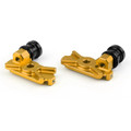 CNC Swingarm Spool Adapters Honda CBR250R (2011-2013) Gold