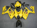 Fairings Suzuki GSXR 1000 Yellow Black GSXR Racing  (2007-2008)