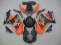 Fairings Suzuki GSXR 1000 Black & Orange GSXR Racing  (2007-2008)