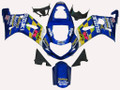 Fairings Suzuki GSXR 1000 Blue Movistar Racing  (2000-2002)