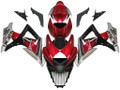 Fairings Suzuki GSXR 1000 Red Cherry & Black GSXR Racing  (2007-2008)