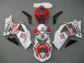 Fairings Suzuki GSXR 1000 White & Red Lucky Strike Racing  (2007-2008)