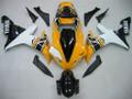 Fairings Yamaha YZF-R1 Yellow White Black R1 Racing (2002-2003)