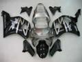 Fairings Honda CBR 954 RR Silver & Black RR Racing (2002-2003)
