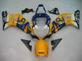 Fairings Suzuki GSXR 600 Yellow & Blue Corona GSXR Racing  (2001-2003)