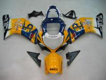 Fairings Suzuki GSXR 600 Yellow & Blue Corona GSXR Racing  (2001-2003)