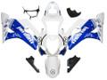 Fairings Suzuki GSXR 1000 White & Blue Jordan  Racing  (2003-2004)