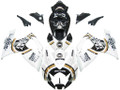 Fairings Suzuki GSXR 600 750 White Black Lucky Strike Racing  (2006-2007)