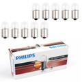 10PCS Genuine PHILIPS 13814 24V 10W R10W BA15s Standard Singaling Lamp Bulbs