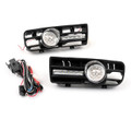 2x Fog Light 5 LED Front Bumper Grille DRL Lamp VW Golf MK4 GTI TDI (99-04)