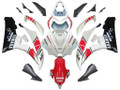 Fairings Yamaha YZF-R6 White Red Black R6 Racing (2006-2007)