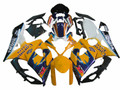 Fairings Suzuki GSXR 1000 Blue Yellow Alstare Corona Racing (2005-2006)
