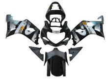 Fairings Suzuki GSXR 1000 Silver & Black Racing  (2000-2002)