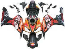 Fairings Honda CBR 1000 RR Black Valentino Rossi  Racing (2006-2007)