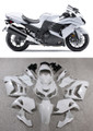 Fairings Plastics Kawasaki ZX14R Ninja White Racing (2012-2015)