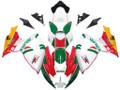 Fairings Suzuki GSXR 600 750 White Red Green Alitalia Racing  (2006-2007)