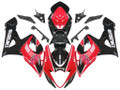 Fairings Suzuki GSXR 1000 Black and Red GSXR Racing  (2005-2006)