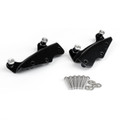 4 Point Docking Hardware Kit for Road King Street Glide FLHR FLHX FLHRC 2009-13 Black