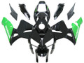 Fairings Honda CBR 600 RR Black & Green CBR Racing (2005-2006)