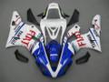 Fairings Yamaha YZF-R1 Blue White No.46 FIAT Racing (2000-2001)
