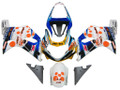 Fairings Suzuki GSXR 750 Multi-Color pepephone Racing  (2000-2003)