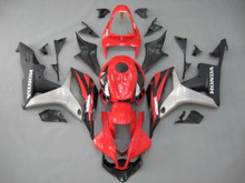 Fairings Honda CBR 600 RR Red Black Silver Honda Racing (2007-2008)